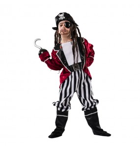 Disfraz de Pirata Barba Negra para niño