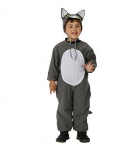 Disfraz de Lobo Gris infantil