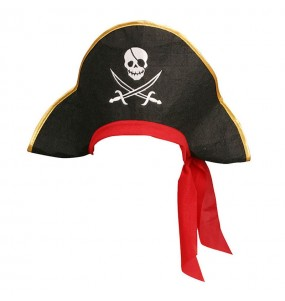 Sombrero de Pirata con calavera