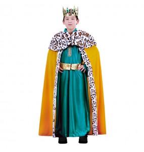 Disfraz de chico Rey Mago Gaspar