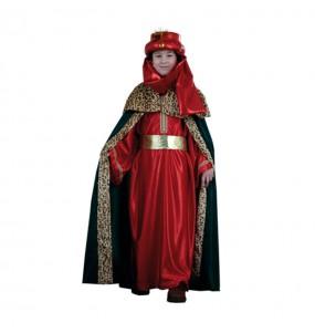 Disfraz chico Rey Mago Baltasar infantil