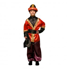 Disfraz de Paje Rojo