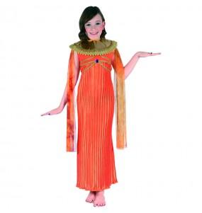 Disfraz de Egipcia Naranja
