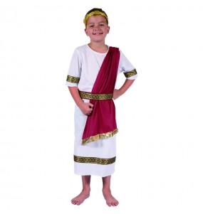 Disfraz de Romano Cesar chico