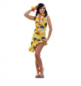 disfraz de hawaiana sexy