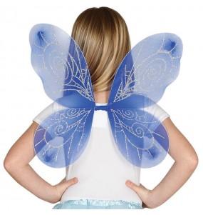 Alas de mariposa Azules