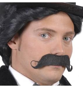 Bigote Doctor Watson con adhesivo