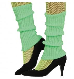 Calentadores Verdes disfraz