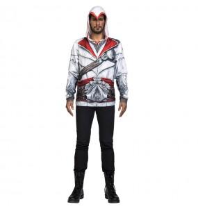 Camiseta Disfraz Ezio Auditore Assassin's Creed adulto
