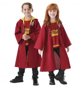 Capa Quidditch Harry Potter para niños