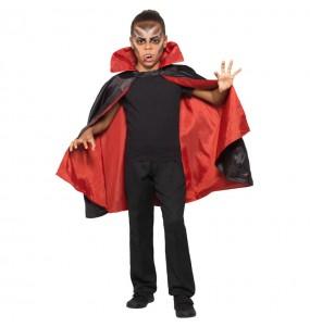 Capa Vampiro reversible infantil de disfraz