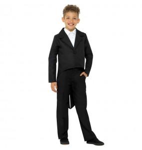 Disfraz de Chaqueta Frac Negra para niños