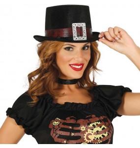 Chistera Steampunk Negra