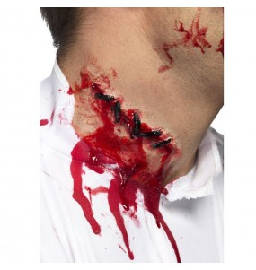 Cicatriz sutura Halloween