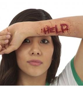 Cicatriz Ayuda Látex