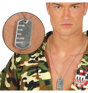Colgante Identificación Militar