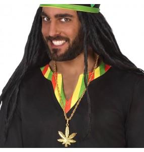 Colgante Marihuana Rastafari