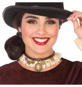 Collar Dama Steampunk