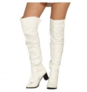 Cubrebotas Blancos para mujer