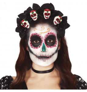 Diadema Catrina Muerte Mexicana