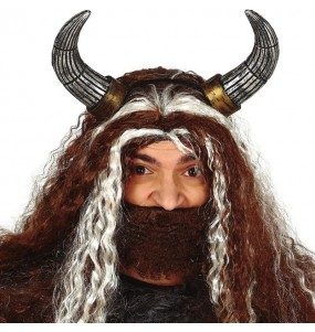 Diadema Cuernos Vikingo