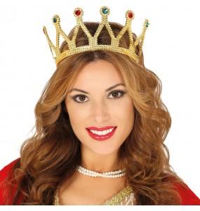 Diadema Princesa Oro