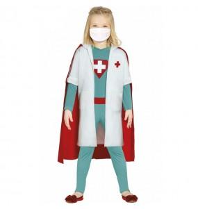 Disfraz de Súper Médico para niña