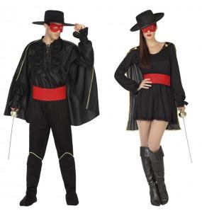 Pareja Bandidos El Zorro