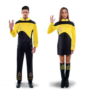 Pareja Star Trek Amarilla