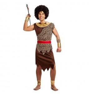 Disfraz de Guerrero Africano para hombre