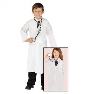 Disfraz de Doctor Bata para niños