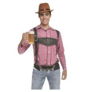 Disfraz Camiseta Alemán Oktoberfest adulto