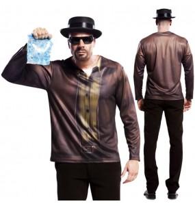 Disfraz Camiseta hiperrealista Heisenberg