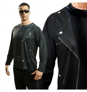 Disfraz Camiseta hiperrealista Terminator