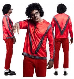 Disfraz Camiseta hiperrealista Thriller