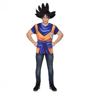 Camiseta Disfraz Son Goku adulto Dragon Ball
