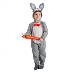 Disfraz de Conejito gris infantil