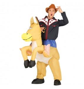Disfraz de Cow Boy a hombros Hinchable