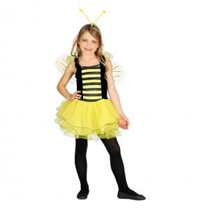 Disfraz de Abejita con alas infantil