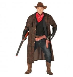 Disfraz de Abrigo Cowboy para hombre