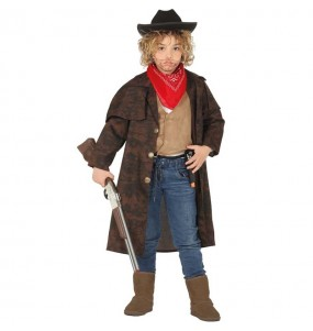Disfraz de Abrigo Cowboy para niño
