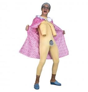 Disfraz de Abuela exhibicionista