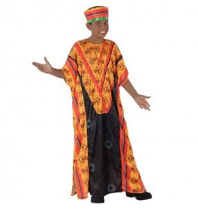 Disfraz de Africano para niño