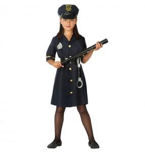 Disfraz de Agente de la Policía para niña