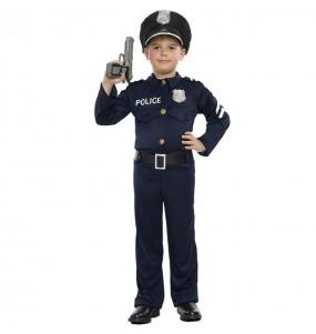 Disfraz de Agente de la Policía para niño