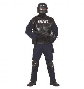 Disfraz de Agente SWAT para hombre