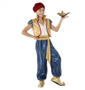 Disfraz de Aladdín del desierto para niño