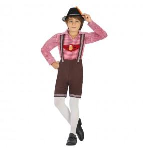 Disfraz de Alemán Oktoberfest para niño