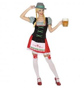 Disfraz de Alemana fiesta de la cerveza para mujer