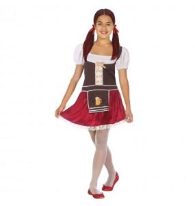 Disfraz de Alemana Oktoberfest para niña